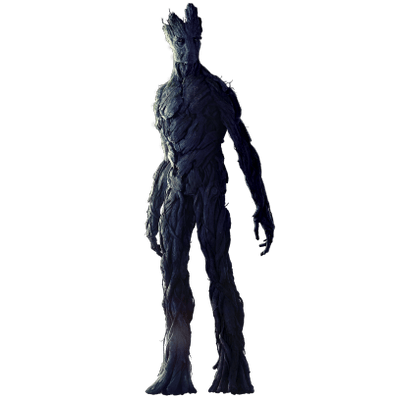 Groot transparent human. Guardians of the galaxy