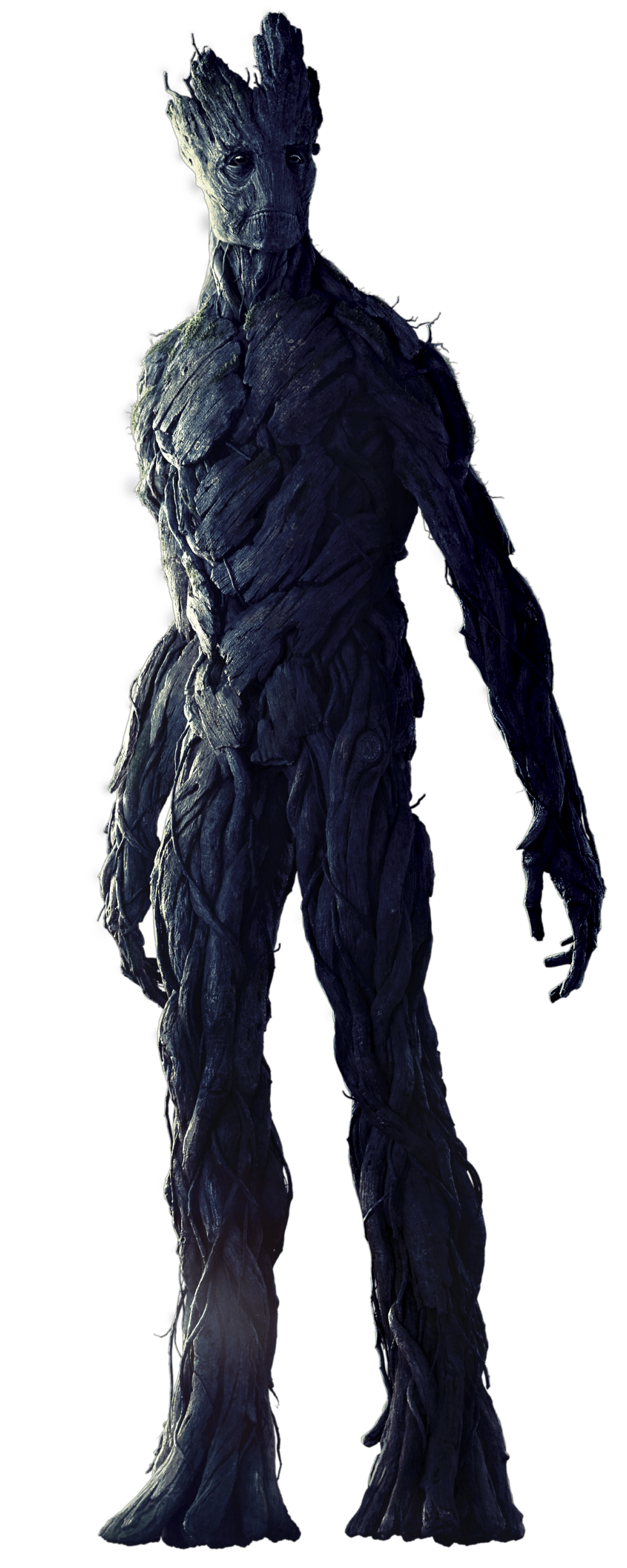 groot transparent red suit