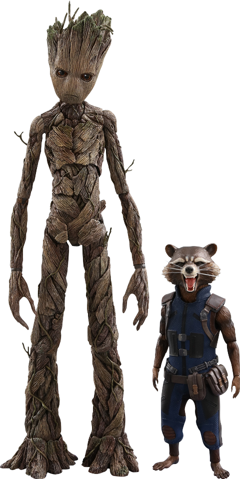 Groot png marvel. And rocket sixth scale