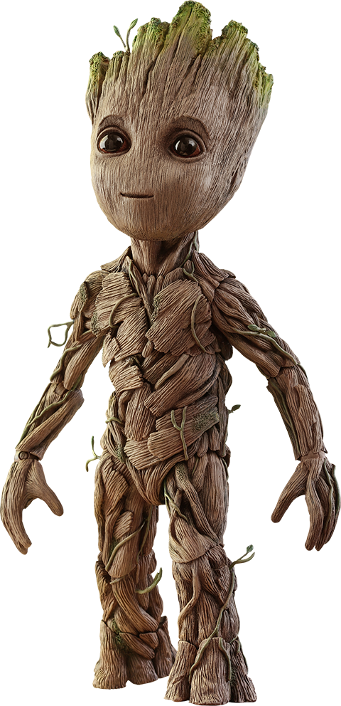 Drawing marvel groot. Sixth scale figure by