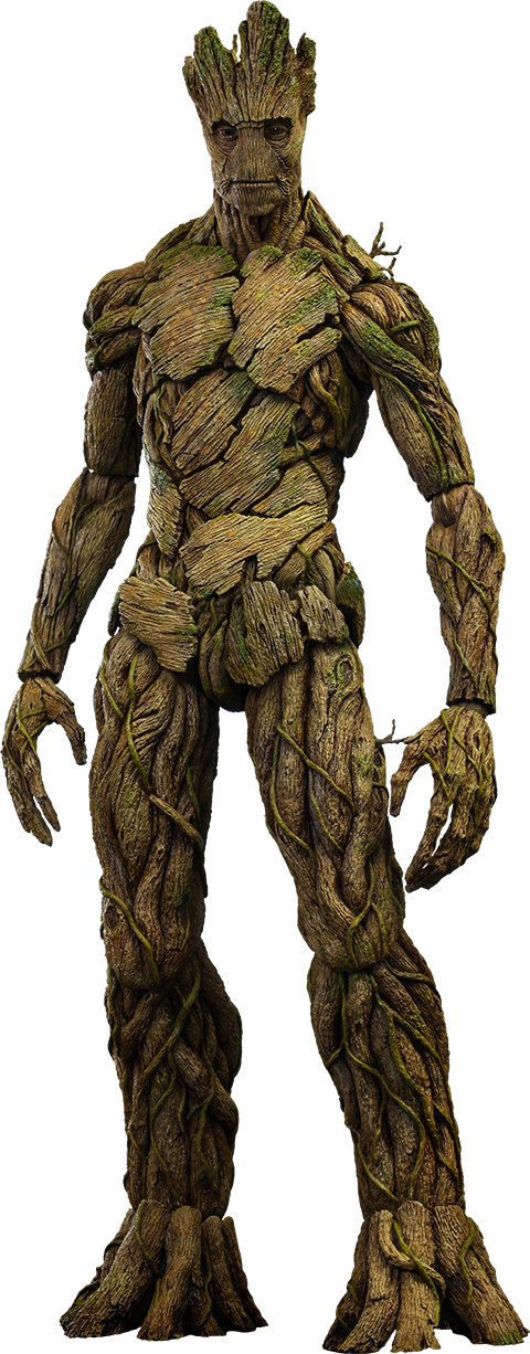Groot png marvel. Sixth scale figure by