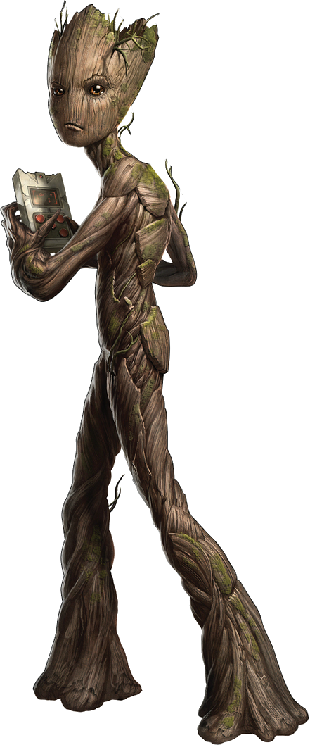 Groot transparent collectible. Avengers infinity war png