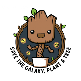 Groot svg guardians. Galaxy forest conservation program