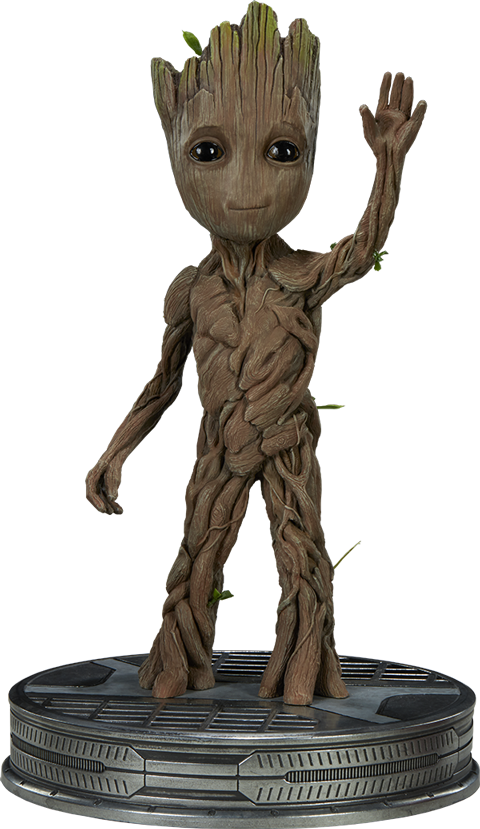 Groot transparent collectible. Baby maquette i ve