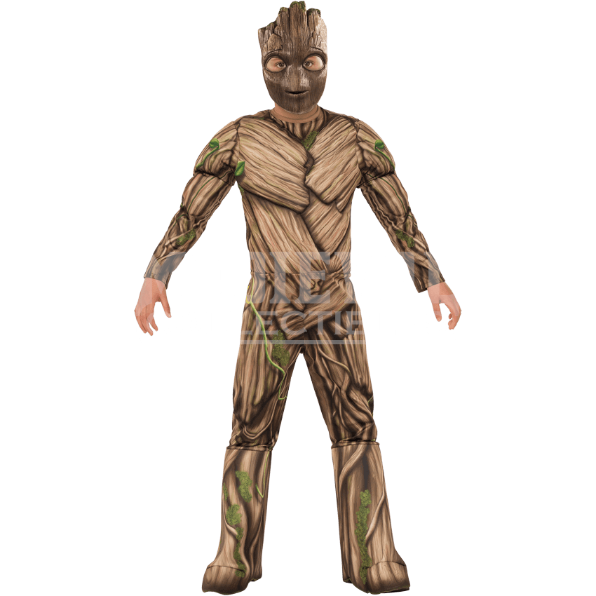 Groot transparent collectible. Kids deluxe costume rc