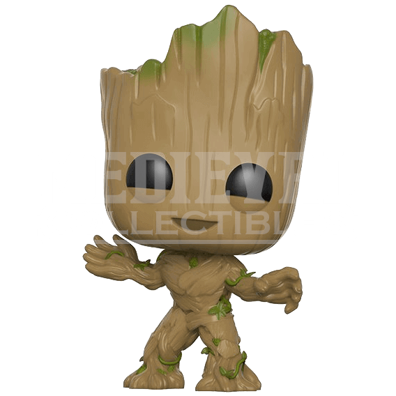 Groot transparent collectible. Guardians of the galaxy