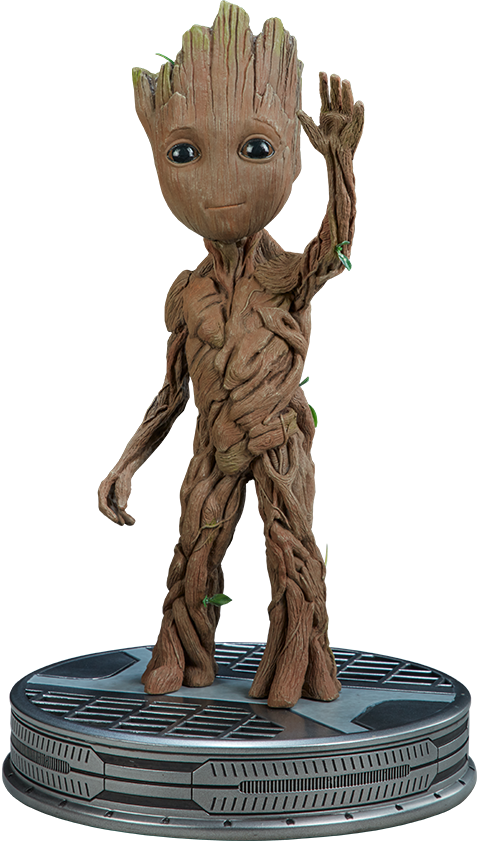 Groot transparent collectible. Darkside collectibles studio shop