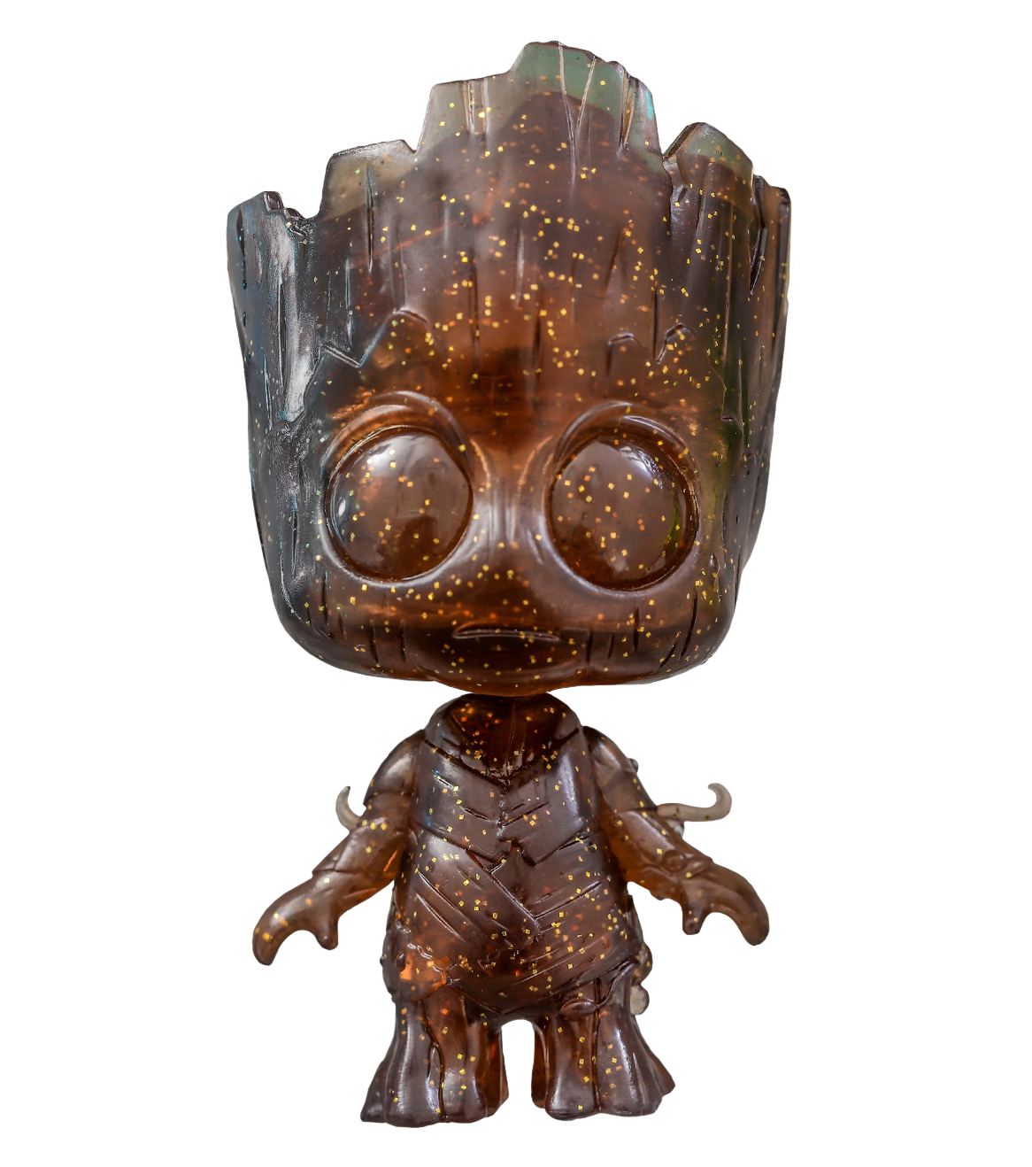 Groot transparent head. Guardians of the galaxy