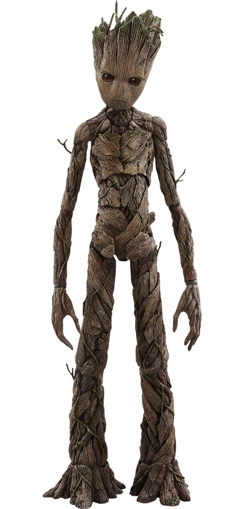 Groot transparent human. Marvel sixth scale figure