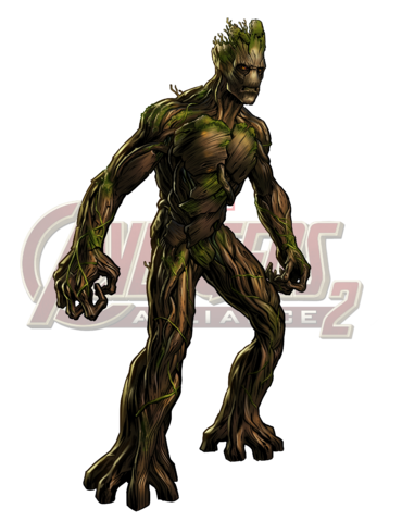 Groot transparent marvel avengers alliance. Image icon png wikia