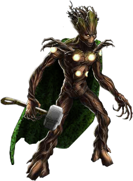 Groot transparent marvel avengers alliance. Image mighty png fanfic