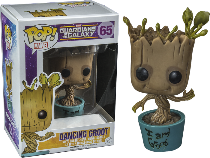 Groot transparent dancing. Guardians of the galaxy