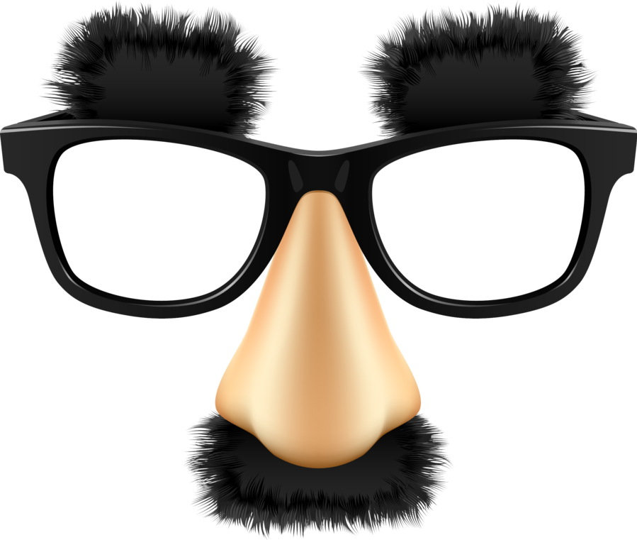 Groucho marx glasses png. Grouchomarx funny eyebrows nose