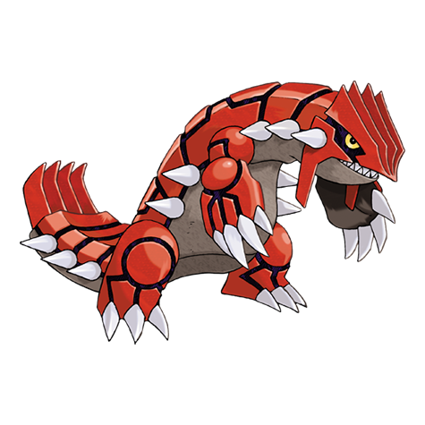 Groudon drawing. Pok dex primal svg transparent download