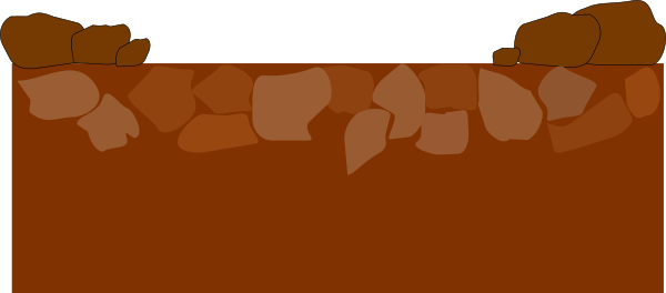 Ground clipart. Rocky clip art at