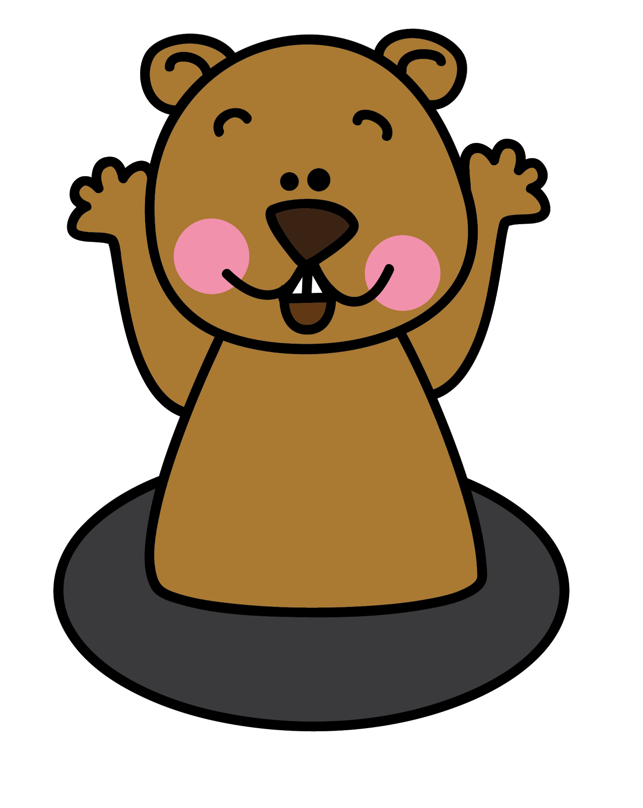 Groundhog clipart. Free cliparts download clip