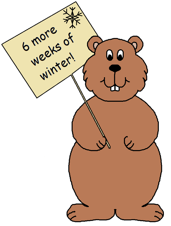 Groundhog clipart light shadow. Th day clip art