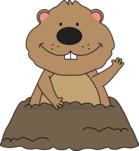 Groundhog clipart light shadow. Free teaching and graphics