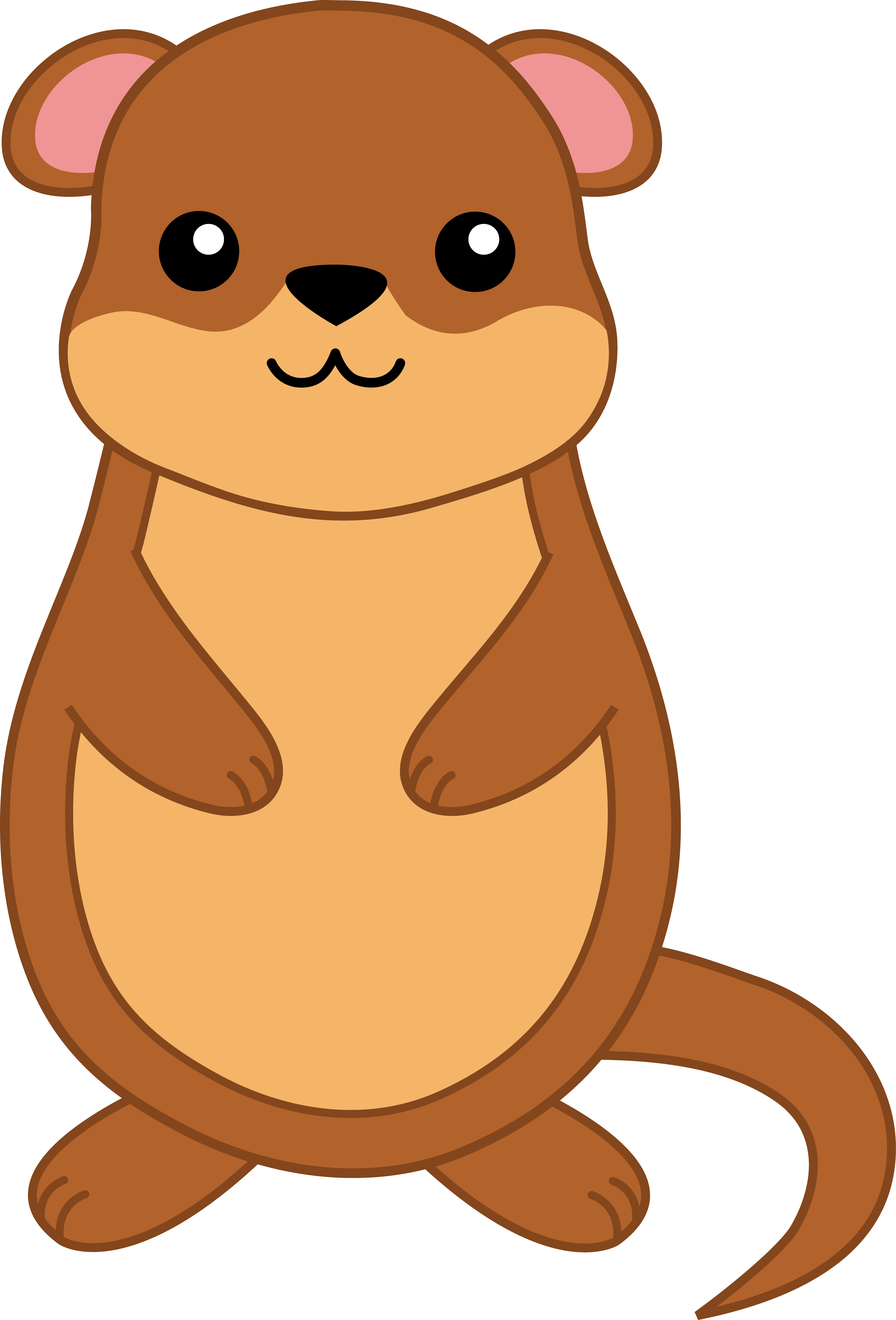 Gopher Drawing Transparent & PNG Clipart Free Download - YA-webdesign
