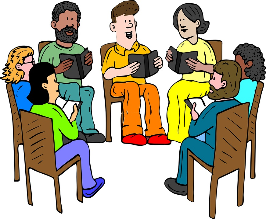 Study clipart study group. Bible at getdrawings com