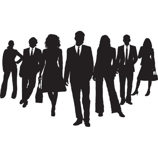 group clipart business person