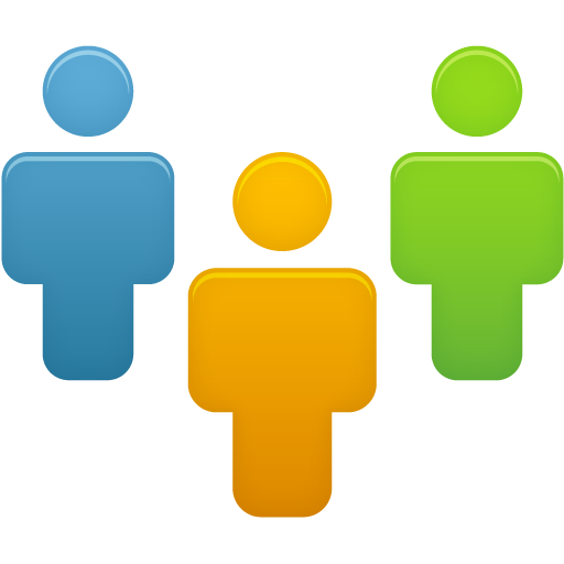 Group clipart user group. Users graphic icon web
