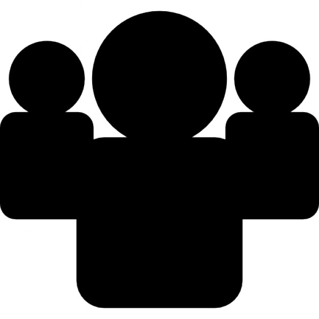 Group clipart user group. Silhouette at getdrawings com