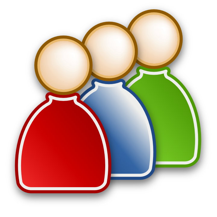 Group clipart user group. Users icon png web