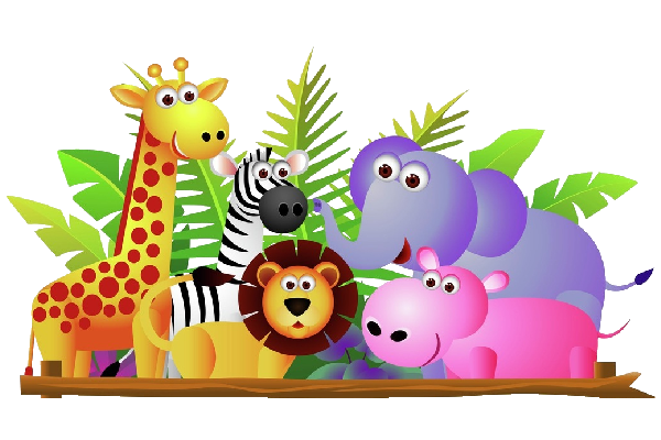 safari animals png