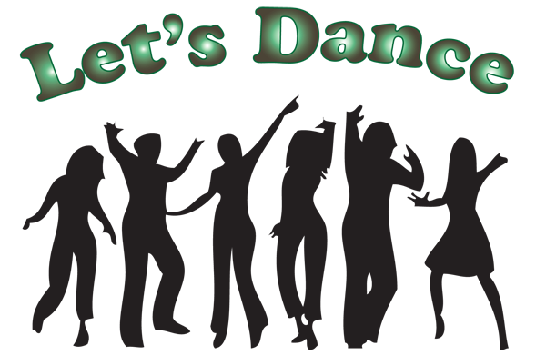 group dancing silhouette png