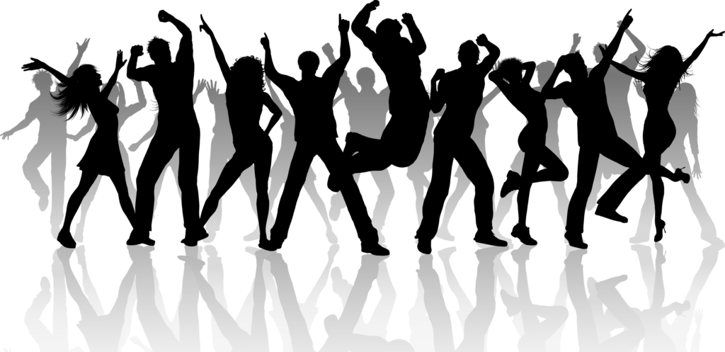 Party people png. Dj transparent vector clipart
