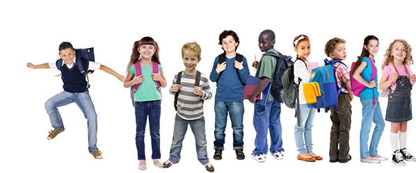 Group of kids png. Middle school transparent images