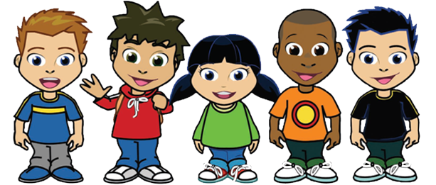 Group of children png. Kids transparent pictures free