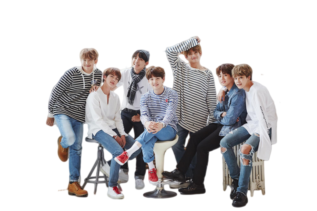 Group of people sitting png. Bts festa by doolymin