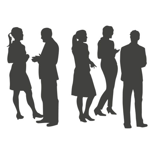 Group silhouette png. Professional transparent svg vector