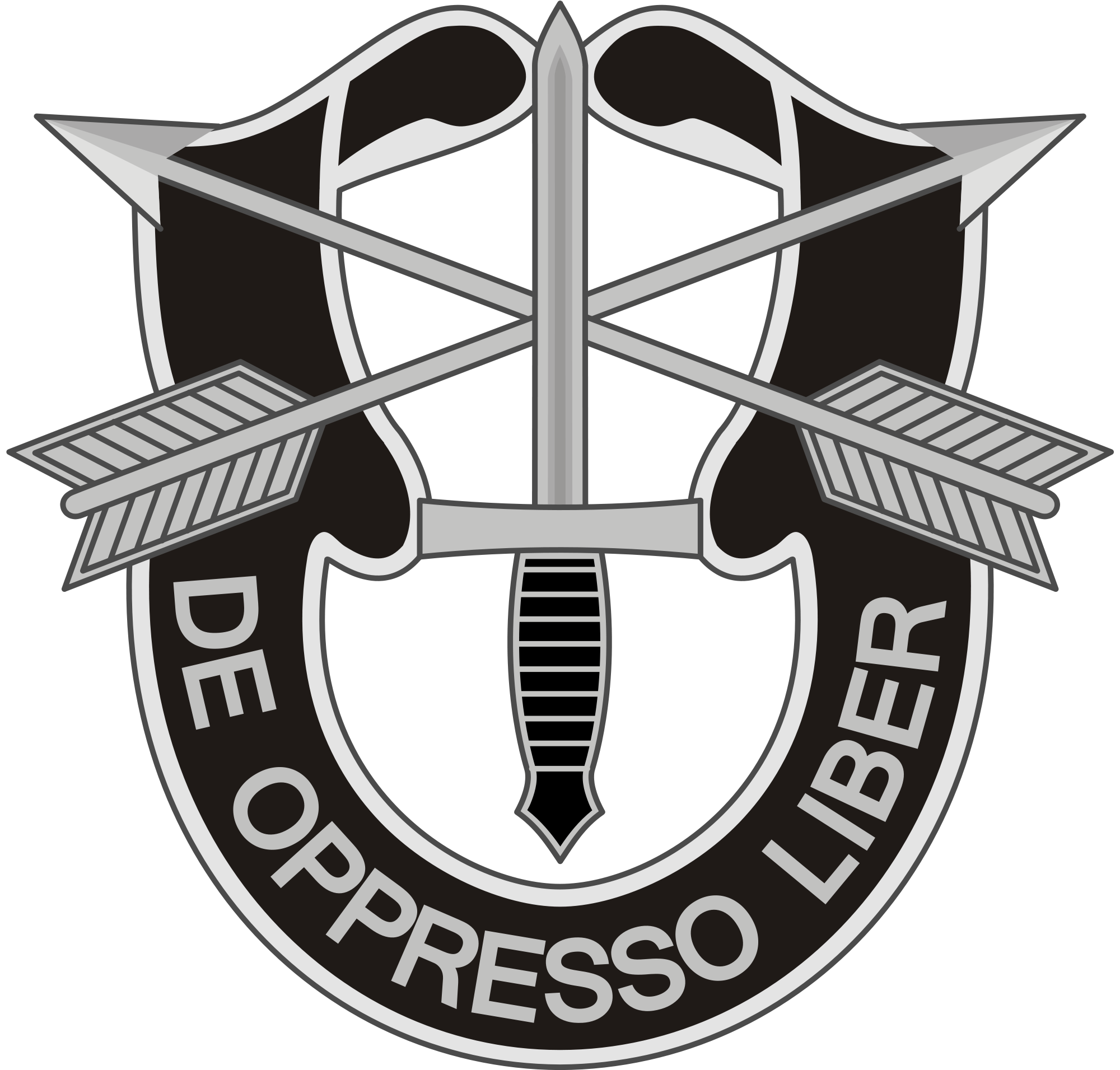 Group vector army. File specialforces badge svg