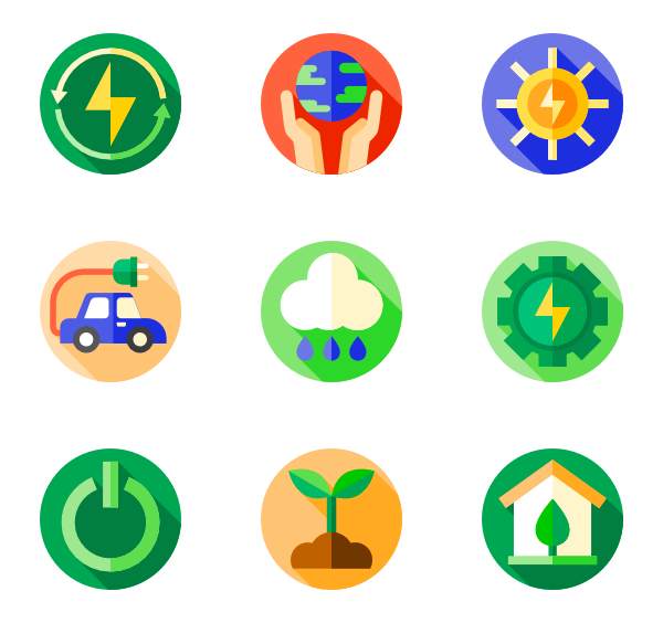 Environment vector solar energy. Friends icons free sustainable
