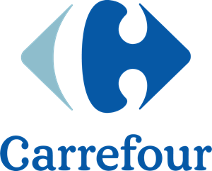 Carrefour ai free download. Group vector logo banner black and white