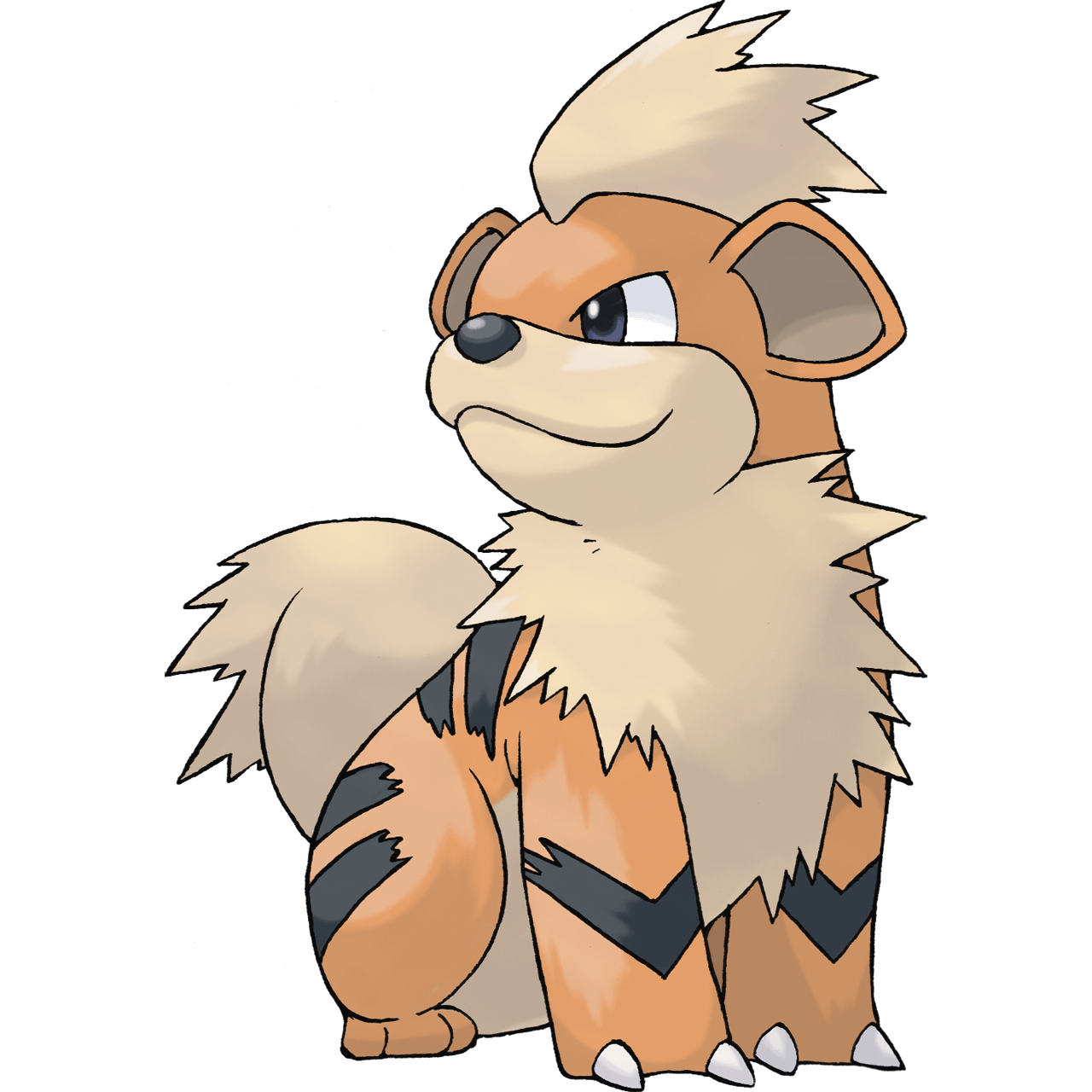 Growlithe drawing adorable. Rate that pokemon
