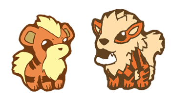 Growlithe drawing baby. Qt arcanine line by