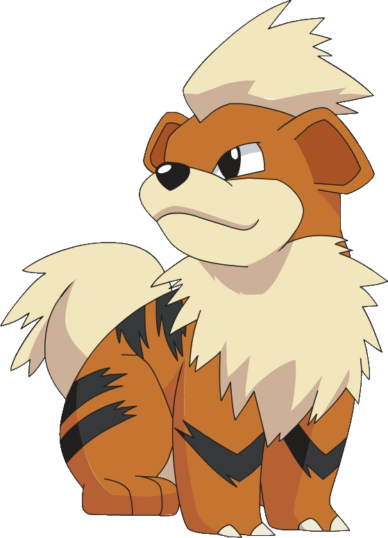 Growlithe drawing pokemon go. By far one of