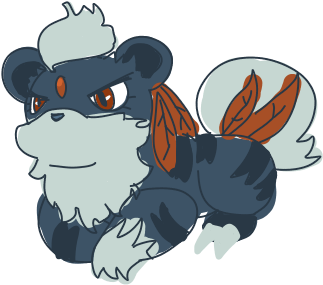 Growlithe drawing transparent. Download hd weavile x