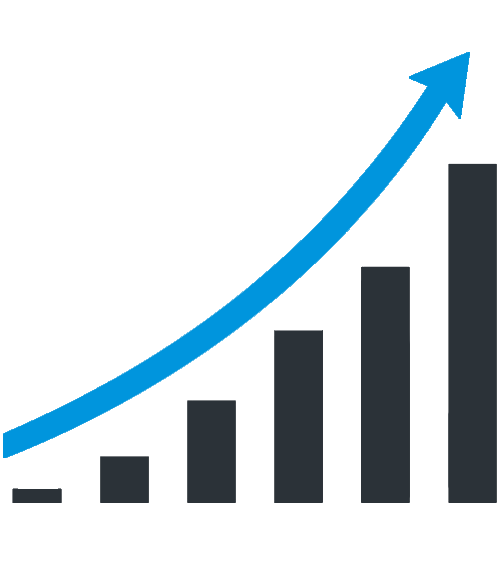 Growth clipart growth rate. Free business chart png
