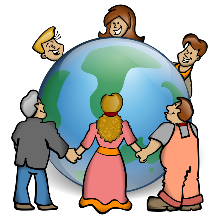 Growth clipart. World population day earth