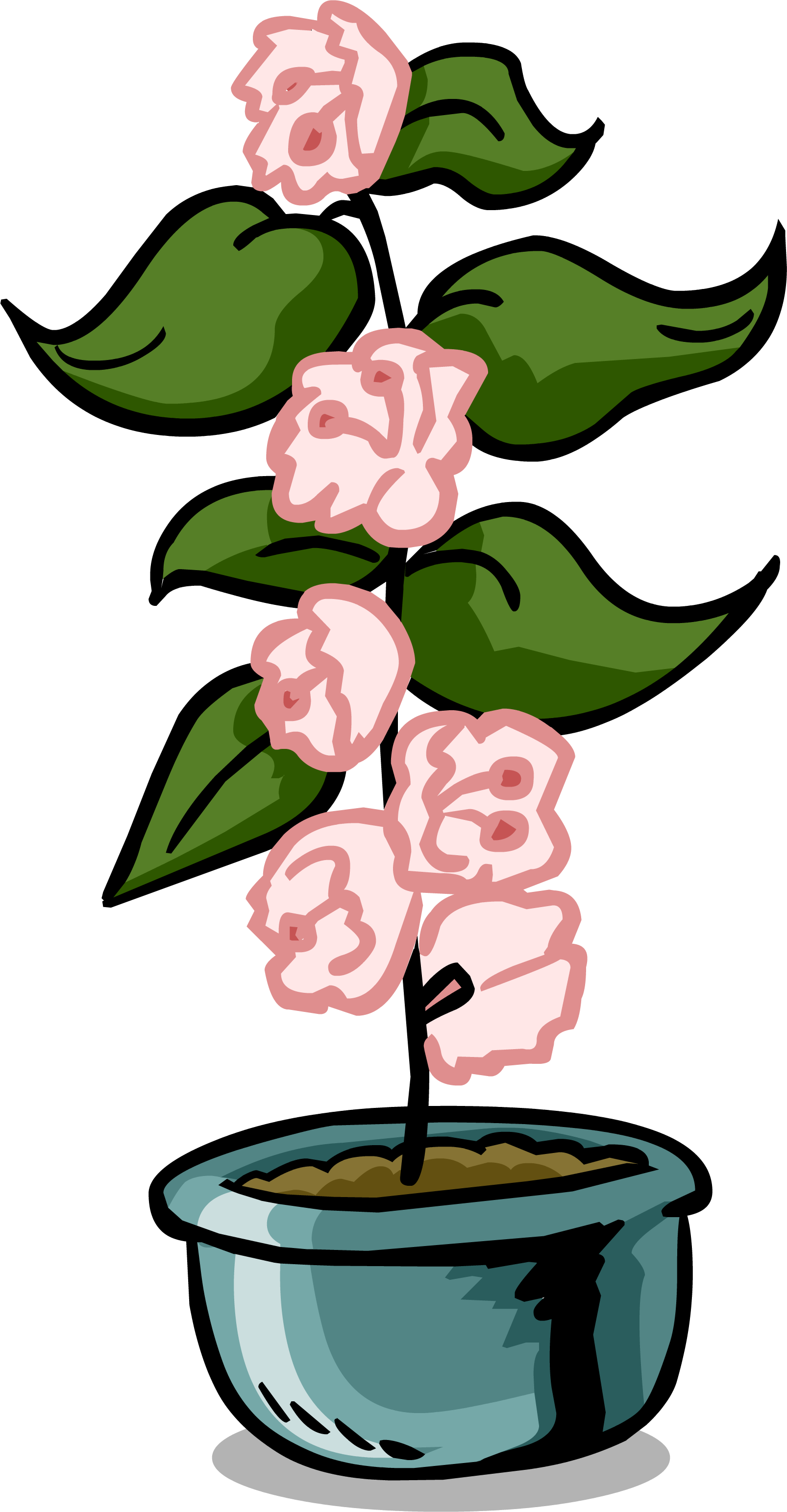 Growth clipart flower cycle. Growing plants club penguin