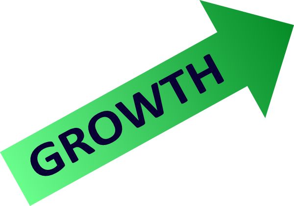 Growth clipart growth rate. Chart symbol clip art