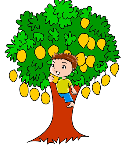 Growth drawing clipart. Svg free mango