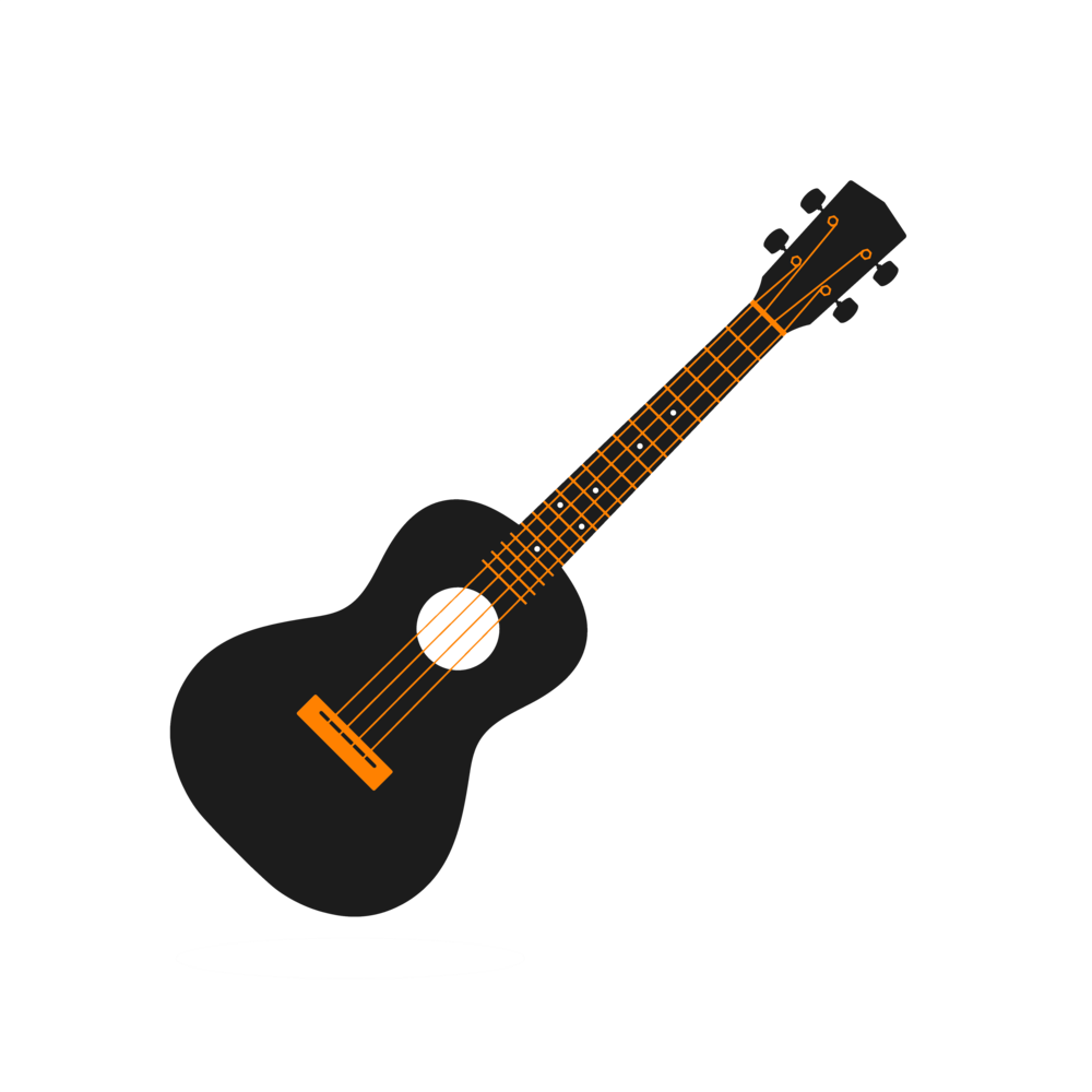 Growth drawing guitar. Lessons fretvision schools ukulele