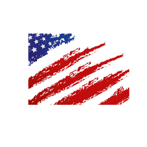 United states flag transparent. Red grunge png banner freeuse library