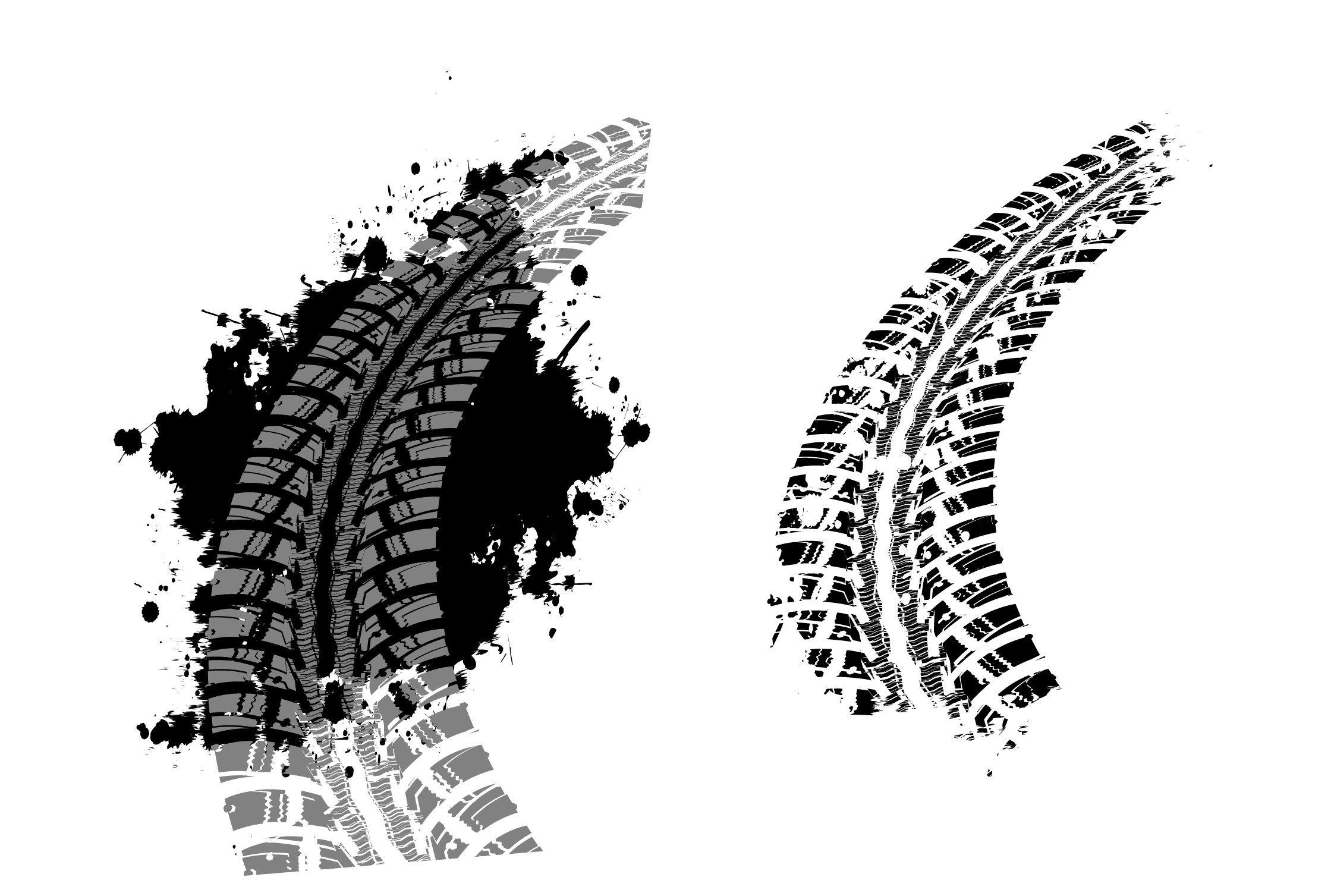 Tire track png. Car tread axle tyres